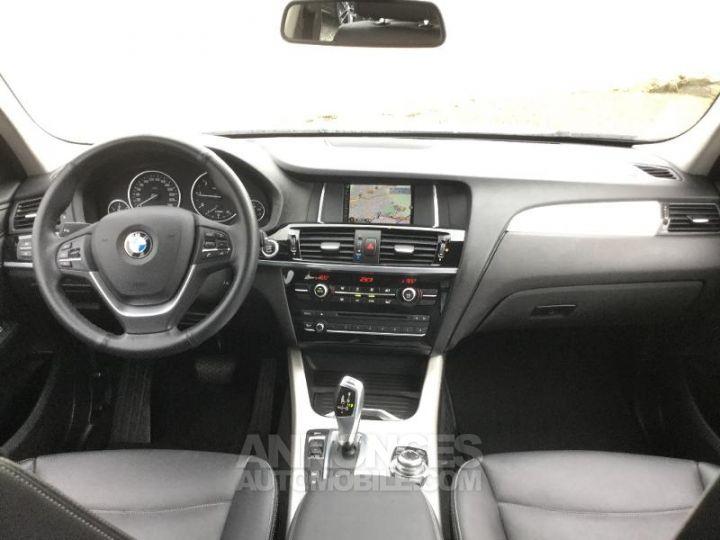 BMW X3 xDrive20dA 190ch Lounge Plus BLANC Occasion - 4