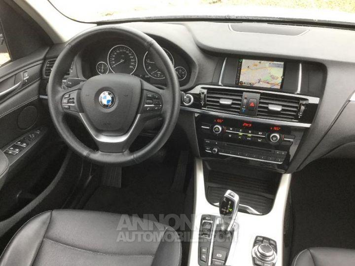 BMW X3 xDrive20dA 190ch Lounge Plus BLANC Occasion - 5
