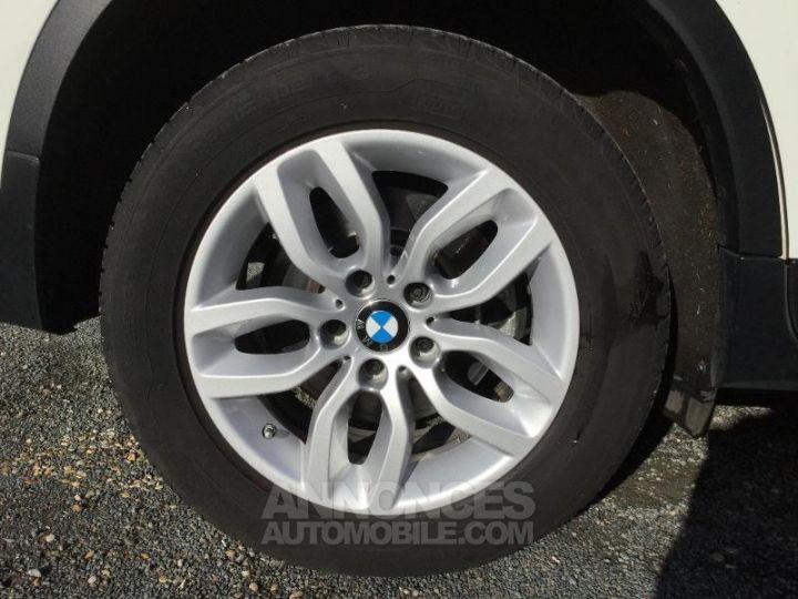 BMW X3 xDrive20dA 190ch Lounge Plus BLANC Occasion - 6