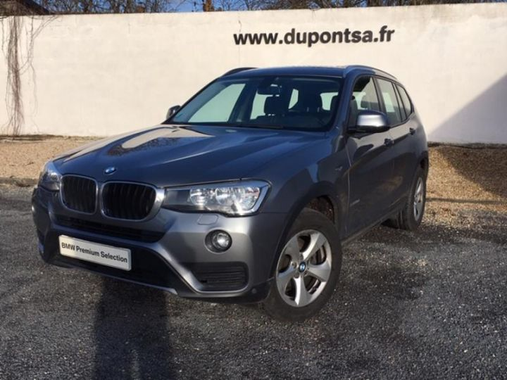 bmw x3 xdrive20da 190ch lounge plus gris f occasion. Black Bedroom Furniture Sets. Home Design Ideas