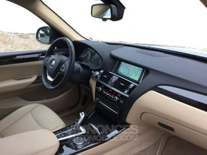 BMW X3 xDrive20dA 190ch xLine Tiefseeblau metallisee Occasion - 3