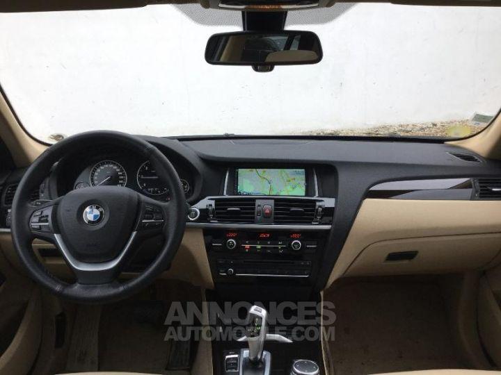 BMW X3 xDrive20dA 190ch xLine Tiefseeblau metallisee Occasion - 4