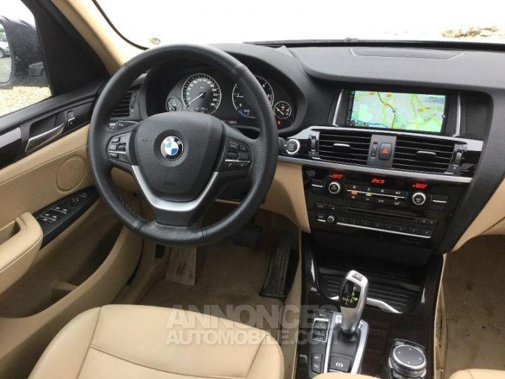 BMW X3 xDrive20dA 190ch xLine Tiefseeblau metallisee Occasion - 5