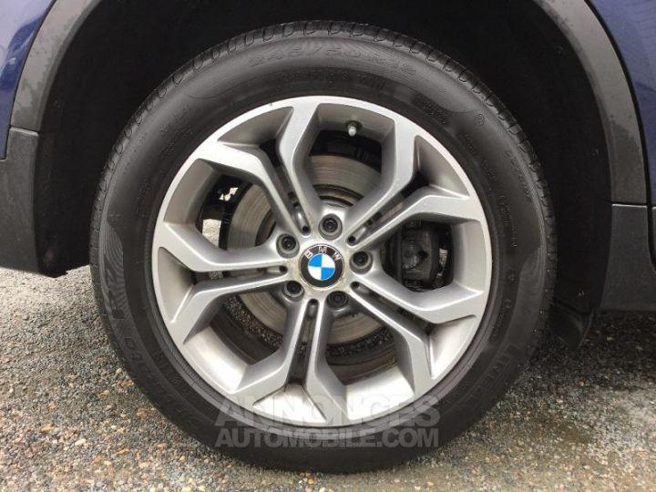 BMW X3 xDrive20dA 190ch xLine Tiefseeblau metallisee Occasion - 7