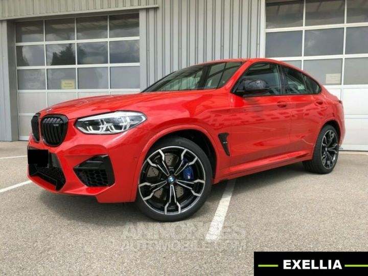 BMW X4 M COMPETITION 510 ROUGE TORONTO Occasion - 1