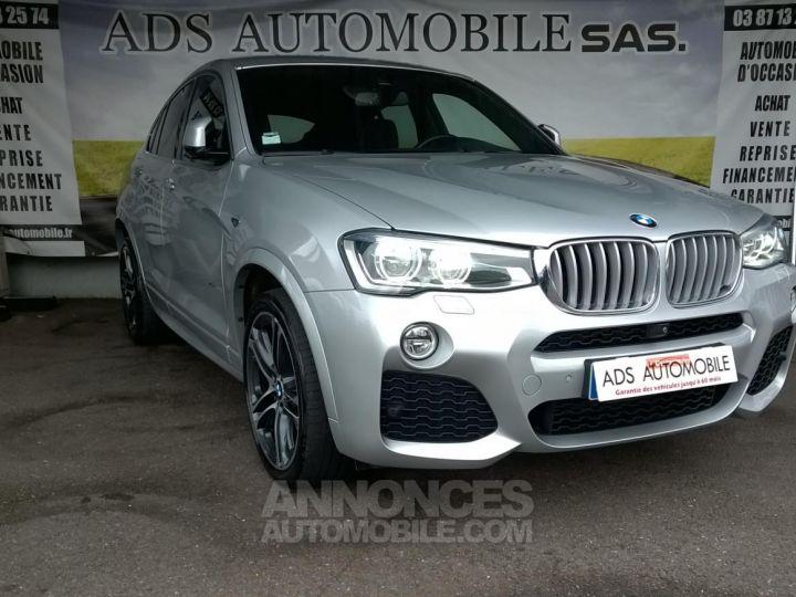 BMW X4 XDRIVE30DA 258CH M SPORT Gris Occasion - 1