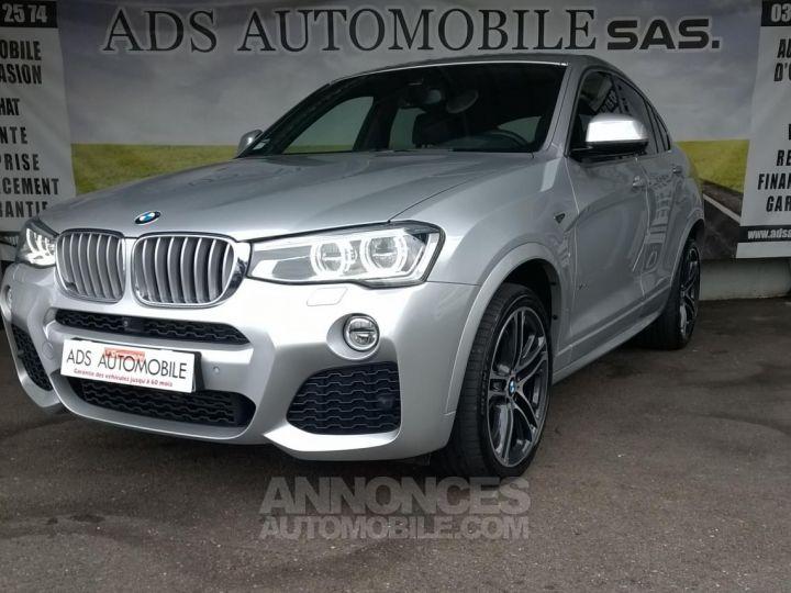 BMW X4 XDRIVE30DA 258CH M SPORT Gris Occasion - 3