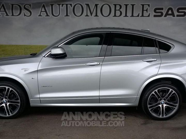 BMW X4 XDRIVE30DA 258CH M SPORT Gris Occasion - 14