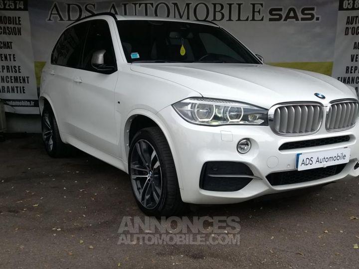 BMW X5 M50D 381CH  Blanc Occasion - 1