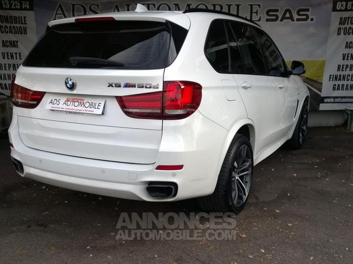 BMW X5 M50D 381CH  Blanc Occasion - 2