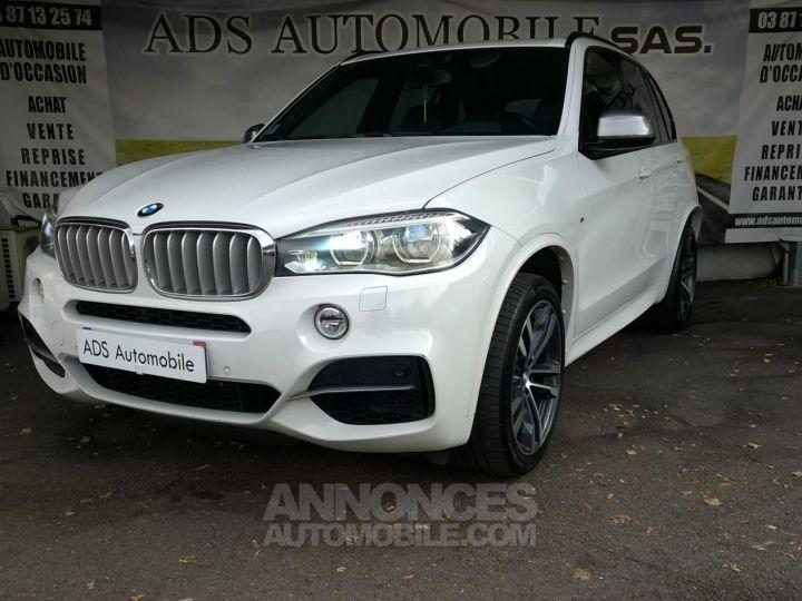 BMW X5 M50D 381CH  Blanc Occasion - 3