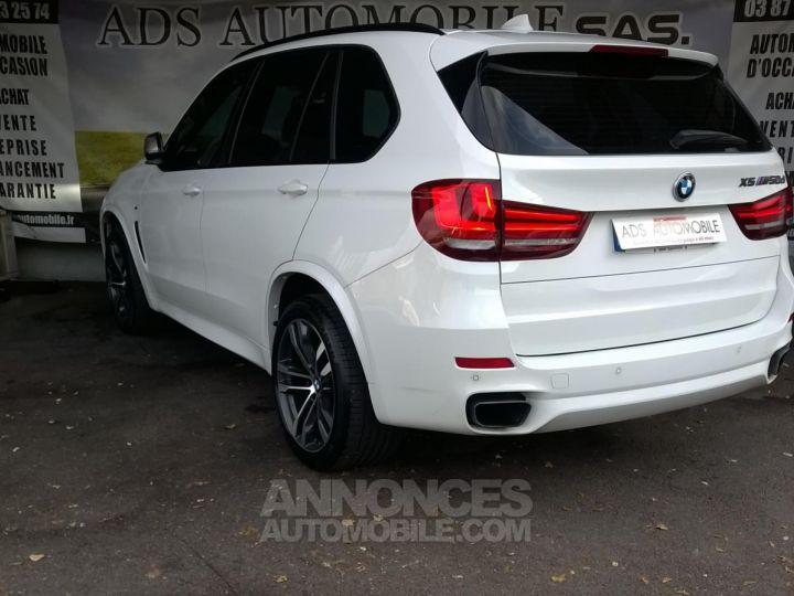 BMW X5 M50D 381CH  Blanc Occasion - 4