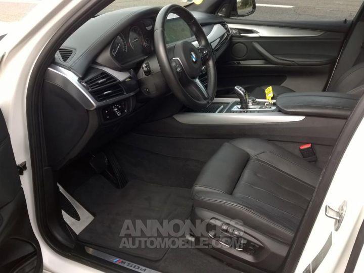 BMW X5 M50D 381CH  Blanc Occasion - 7