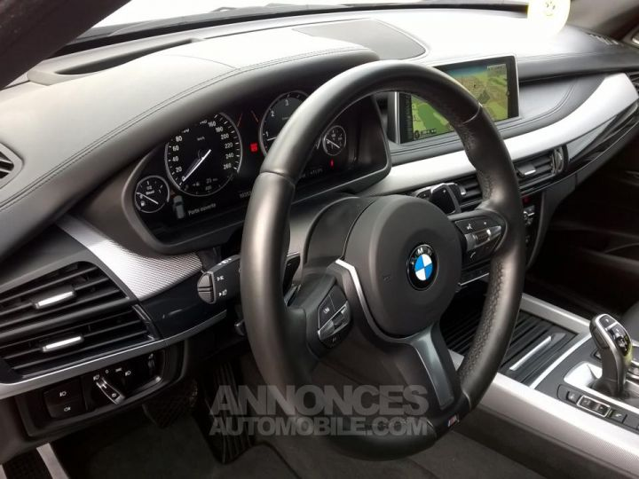BMW X5 M50D 381CH  Blanc Occasion - 8