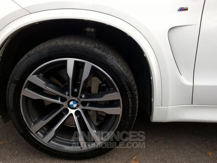BMW X5 M50D 381CH  Blanc Occasion - 12