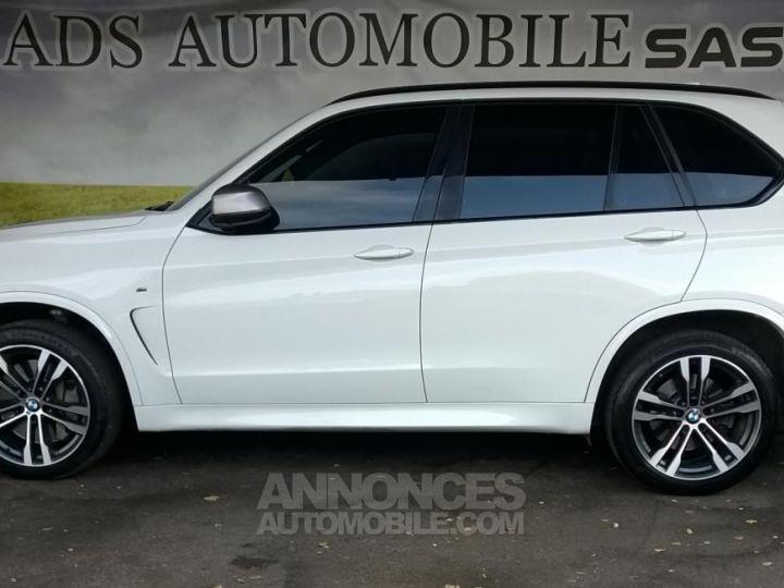 BMW X5 M50D 381CH  Blanc Occasion - 14