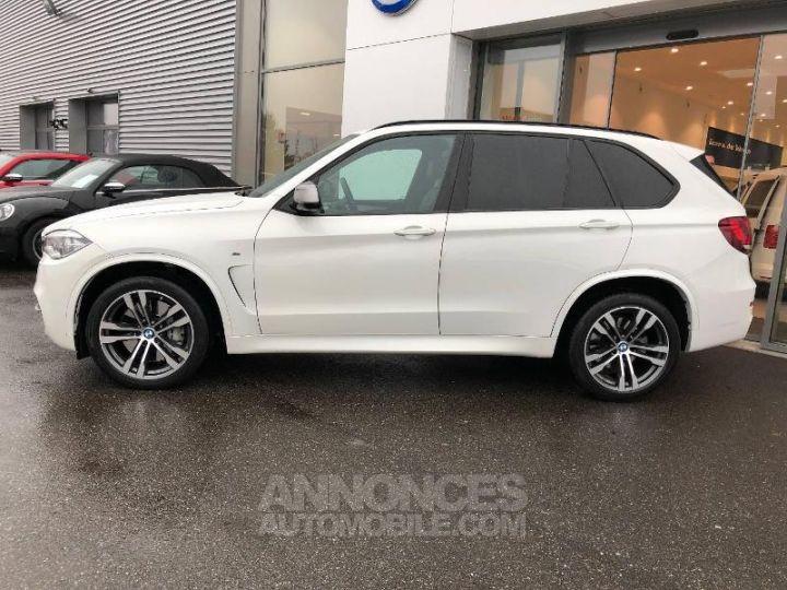 BMW X5 M50d 381ch Alpinweiss Occasion - 2