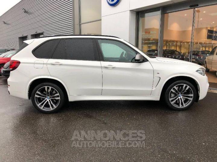 BMW X5 M50d 381ch Alpinweiss Occasion - 3