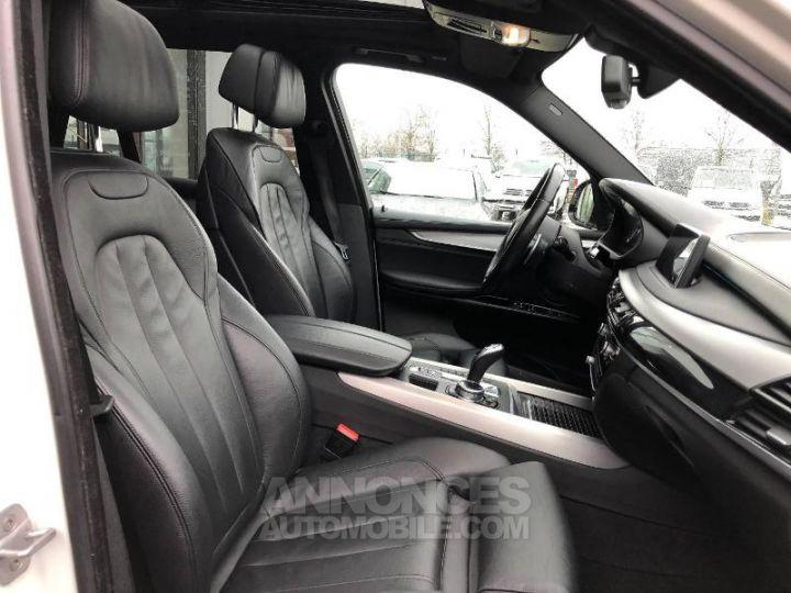 BMW X5 M50d 381ch Alpinweiss Occasion - 8