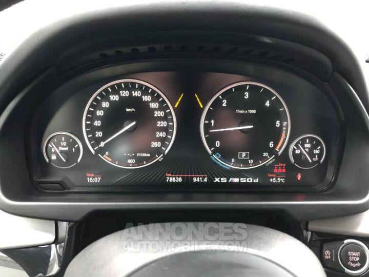 BMW X5 M50d 381ch Alpinweiss Occasion - 13