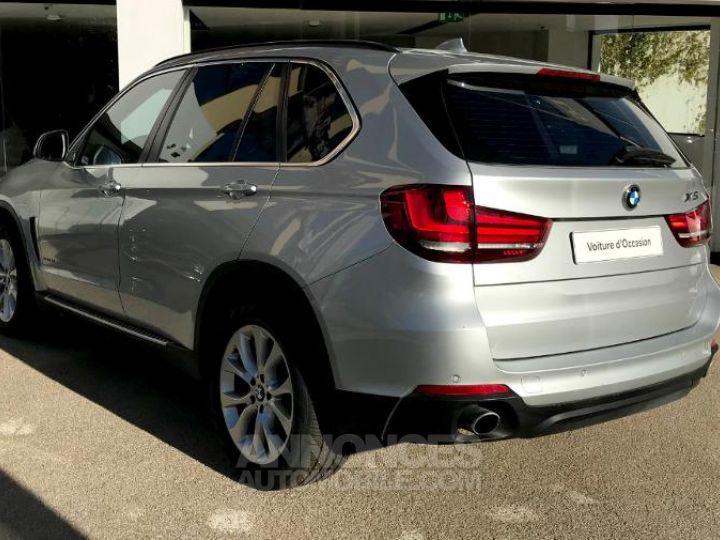 BMW X5 xDrive25dA 218ch Lounge Plus Glaciersilber metallise Occasion - 4