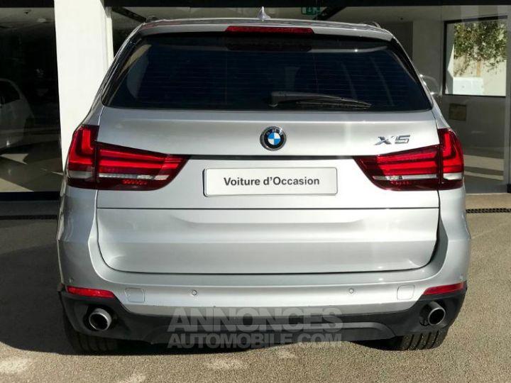 BMW X5 xDrive25dA 218ch Lounge Plus Glaciersilber metallise Occasion - 5