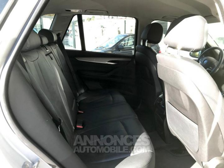 BMW X5 xDrive25dA 218ch Lounge Plus Glaciersilber metallise Occasion - 10