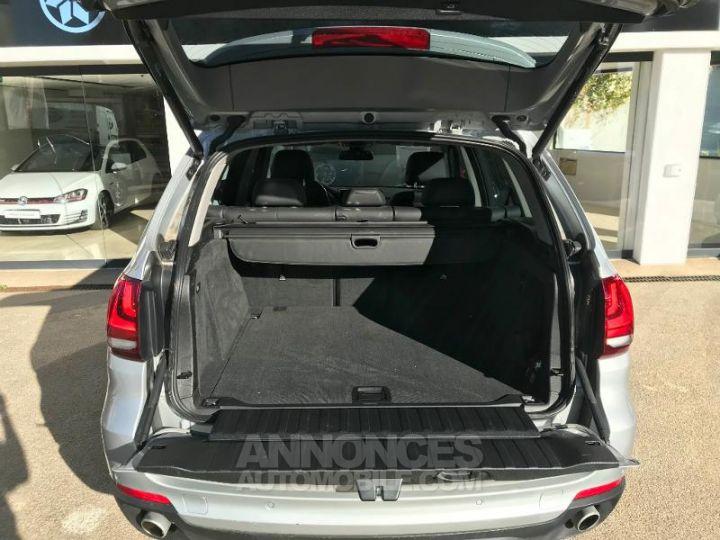 BMW X5 xDrive25dA 218ch Lounge Plus Glaciersilber metallise Occasion - 11