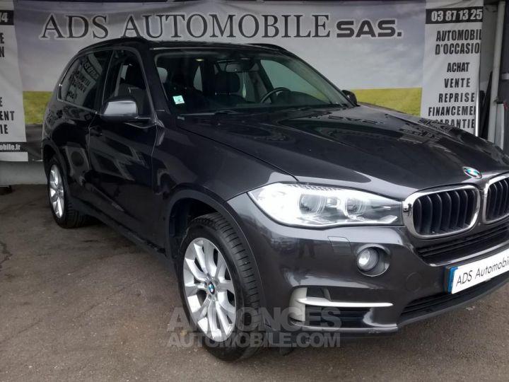 BMW X5 XDRIVE30D 258CH 7PLACE Lounge Plus A Gris Occasion - 1