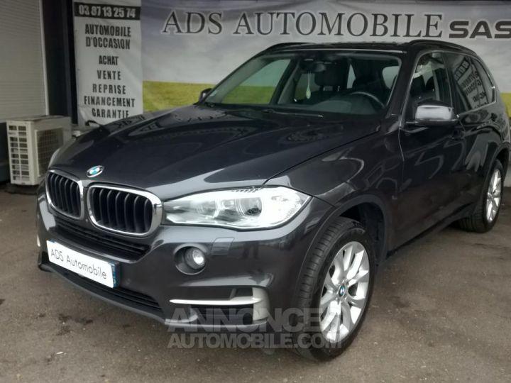 BMW X5 XDRIVE30D 258CH 7PLACE Lounge Plus A Gris Occasion - 2