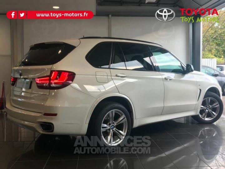 BMW X5 xDrive30dA 258ch M Sport BLANC Occasion - 2