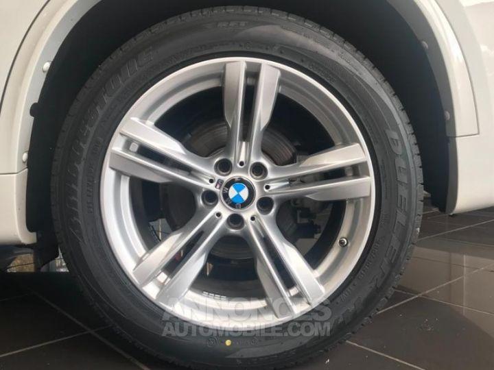 BMW X5 xDrive30dA 258ch M Sport BLANC Occasion - 4