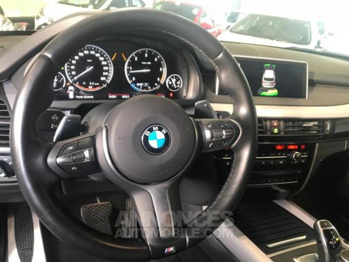 BMW X5 xDrive30dA 258ch M Sport BLANC Occasion - 8