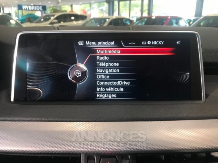 BMW X5 xDrive30dA 258ch M Sport BLANC Occasion - 9