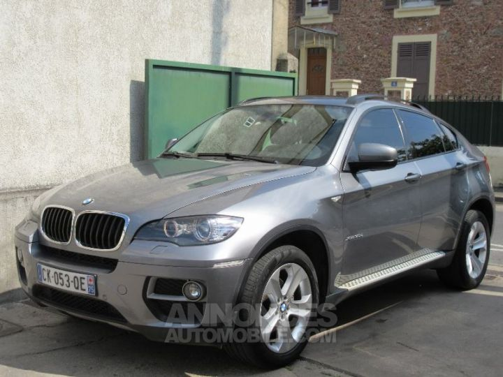 BMW X6 E71 5 PLACES XDRIVE30DA 245CH LUXE GRIS SPACEGRAU Occasion - 1