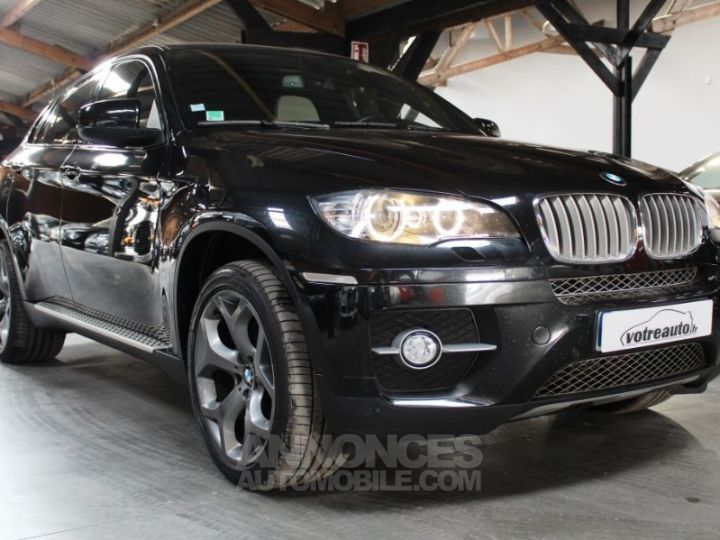 BMW X6 E71 XDRIVE35D 286 EXCLUSIVE INDIVIDUAL NOIR METAL Occasion - 6