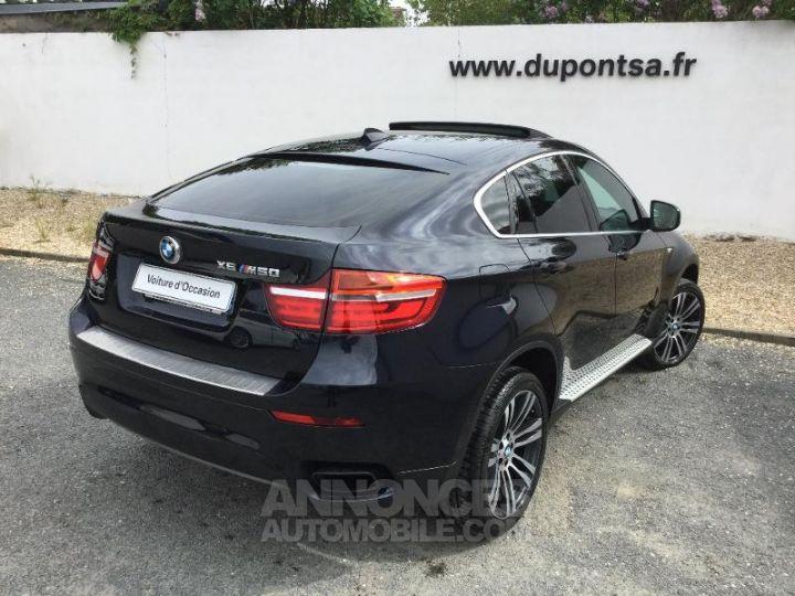 BMW X6 M50d 381ch Carbonschwarz metallic Individ Occasion - 2