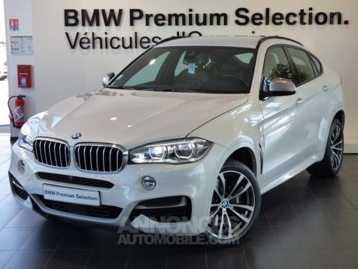 BMW X6 M50dA 381ch Mineralweiss metallise Occasion - 1