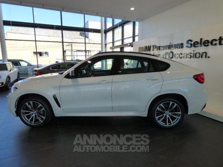 BMW X6 M50dA 381ch Mineralweiss metallise Occasion - 2