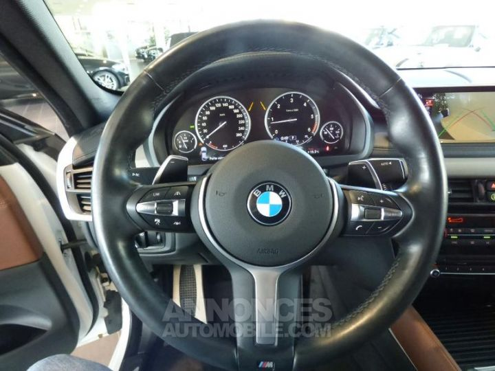 BMW X6 M50dA 381ch Mineralweiss metallise Occasion - 13