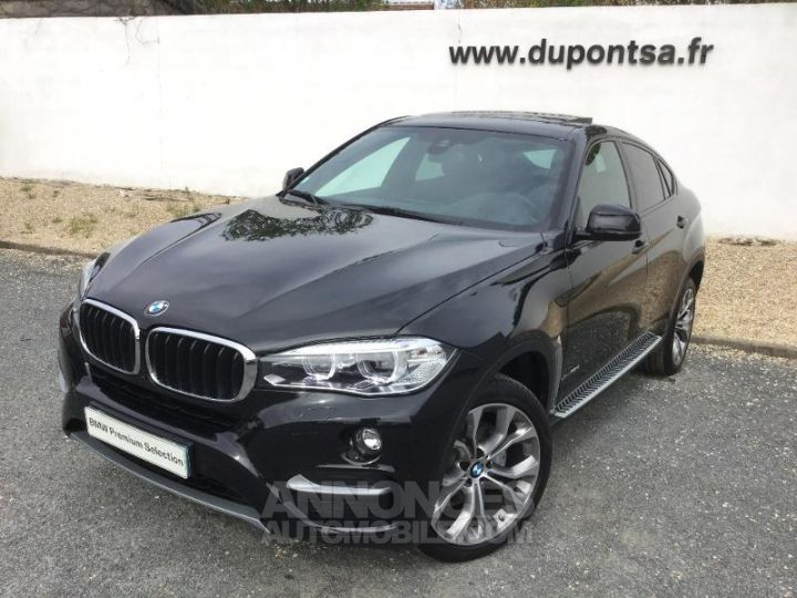 BMW X6 xDrive 30dA 258ch Edition Saphirschwarz  metallise Occasion - 1