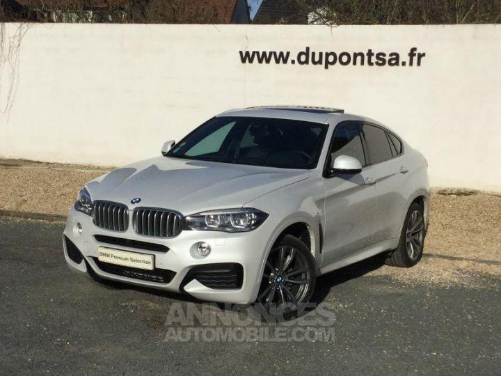 BMW X6 xDrive 30dA 258ch M Sport BLANC Occasion - 1