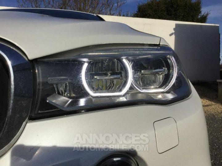 BMW X6 xDrive 30dA 258ch M Sport BLANC Occasion - 13