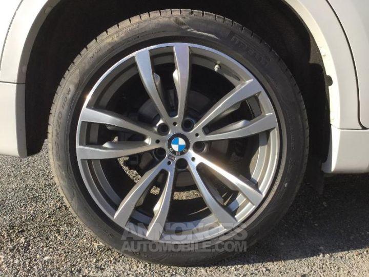 BMW X6 xDrive 30dA 258ch M Sport BLANC Occasion - 14