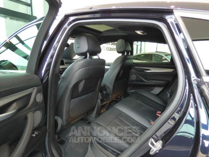 BMW X6 xDrive 30dA 258ch M Sport Carbonschwarz metallise Occasion - 11