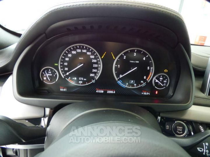 BMW X6 xDrive 30dA 258ch M Sport Carbonschwarz metallise Occasion - 16