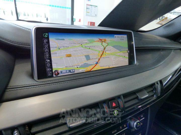 BMW X6 xDrive 30dA 258ch M Sport Carbonschwarz metallise Occasion - 17