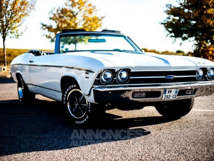 Chevrolet Chevelle SS Blanc Occasion - 2