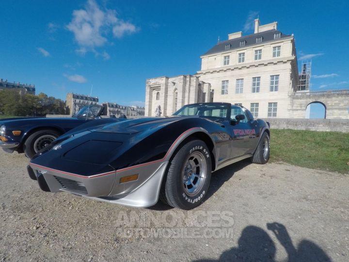 Chevrolet Corvette C3 Indy Pace Car Noir et argent Occasion - 1