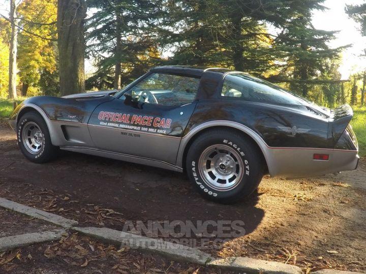 Chevrolet Corvette C3 Indy Pace Car Noir et argent Occasion - 2